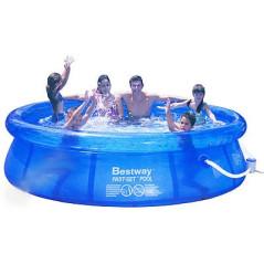 Bazén Bestway Fast Set 305x76 cm s filtráciou