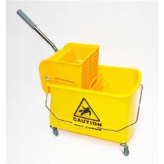 DEMA Upratovací vozík na kolieskach, 20 litrov