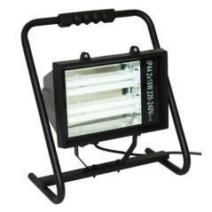 Lampa nízkoenergetická s káblom H05RNF, 2 x 18 W