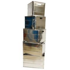 DEMA Sada hliníkových boxov Set 70/85/100/125/150 L