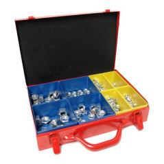 DEMA Matice šesťhranné v kovovom kufríku s organizérom, 290-dielna sada