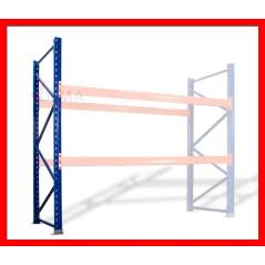 Oporný rám pre regále 247,5 x 115 cm