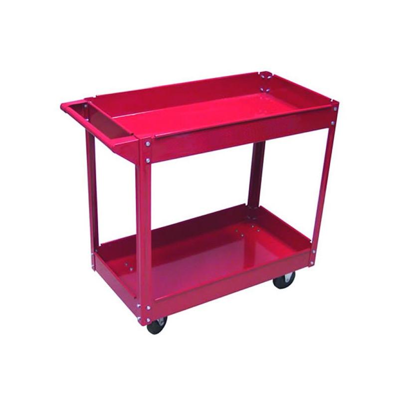 DEMA Dielenský vozík s dvomi policami do 100 kg
