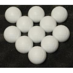 DEMA Loptičky pre stolný futbal, biele, 11 ks