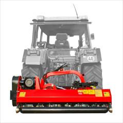 Zariadenie príp. mulč. SLM 125S + možnosť otáč.