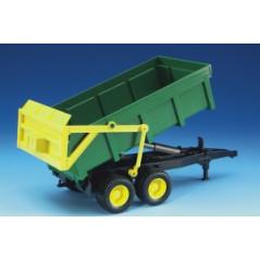 Príves s vyklápacou vaňou zelený - 02210