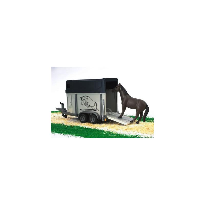 Vozík prívesný pre koňa + kôň