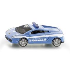 Siku Lamborghini Gallardo Polícia Taliansko 1405