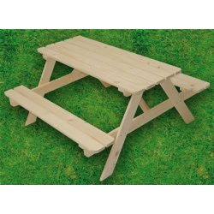 Stôl detský piknikový