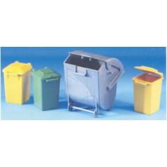 Bruder set odpadkových nádob