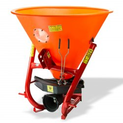 DEMA Rozmetadlo hnojiva a zimného posypu 400 L pre traktor Kat. 1+2