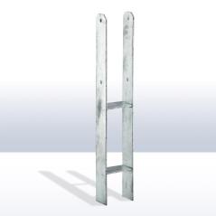 DEMA H-kotva stĺpika 101x60 mm