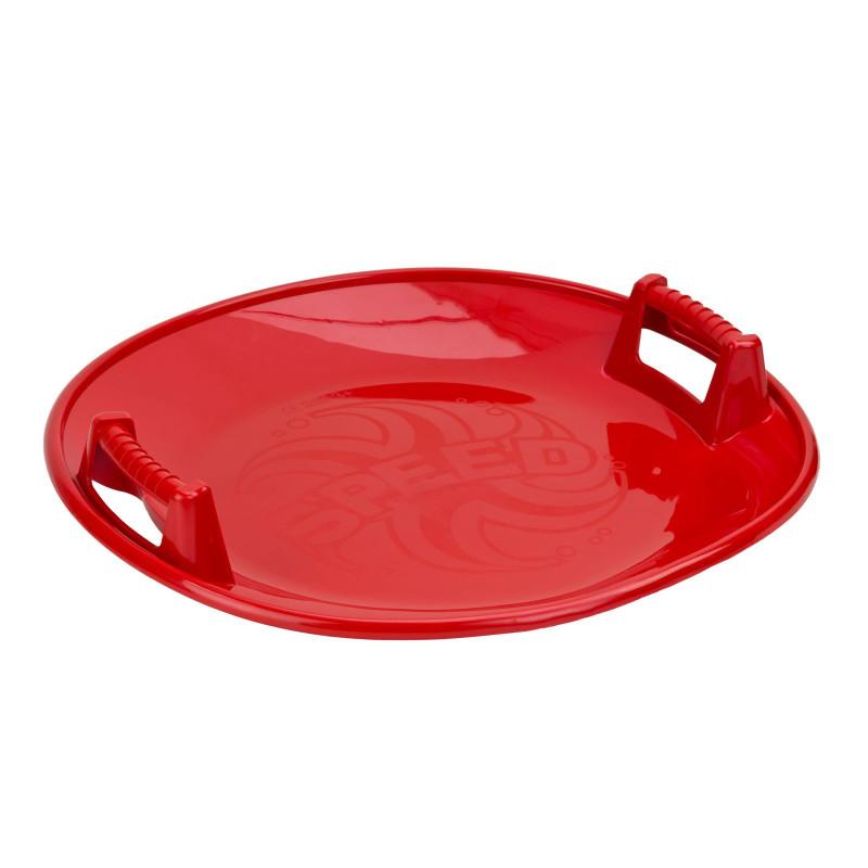 DEMA Sánkovací tanier na sneh Speed 665, červený