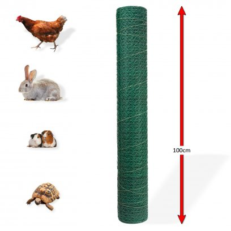 Pletivo 25 mm, 1 x 25 m zelené