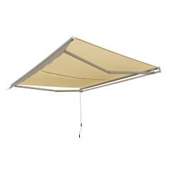 DEMA Alu slnečná markíza 3x2,5 m, béžová