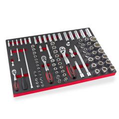 85-dielny set nástrčkových kľúčov