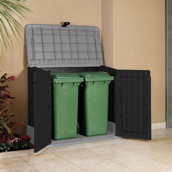 1c21cad5b951d ... Keter Úložný box na záhradné náradie a popolnice Woodland 30 / 845L ...