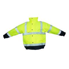 Reflexná bunda - zateplená zimná