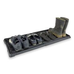 DEMA Výsuvná podložka na topánky 96x38 cm, čierna