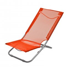 Sklápacia stolička oranžová