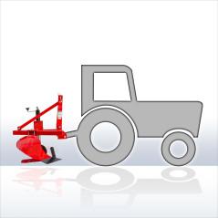 Pluh pre traktory Kat. I