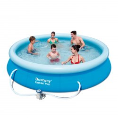 Bazén Bestway Fast Set 366x76 cm s filtráciou