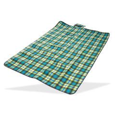 DEMA Plážová / pikniková deka 190x130 cm Acryl-Fleece, zelená