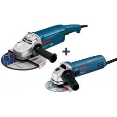 Sada brúsok Bosch GWS 20-230 JH + GWS 850 C