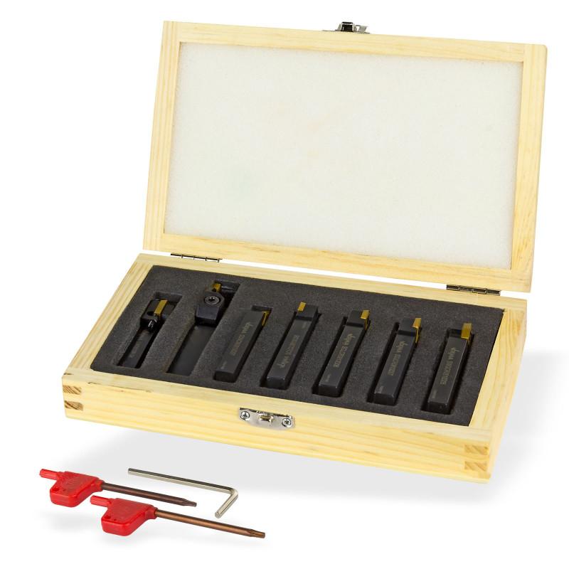 Nože sústružnícke 8 x 10 mm, 7-dielny set