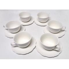 Kávová súprava biela