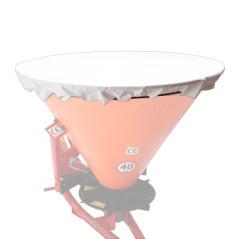 DEMA Krycia plachta pre rozmetadlo hnojiva a zimného posypu 500 L, biela