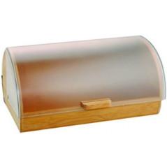 AMBITION Drevený chlebník s plastovým vekom Gordon