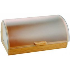 Drevený chlebník s plastovým vekom Gordon