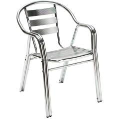 Hliníková záhradná stolička DEMA Twin