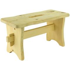Drevený stolček Skara