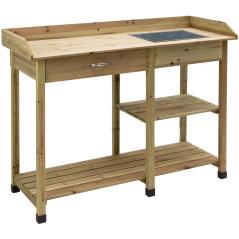 DEMA Záhradnícky stôl PT 117x45x91 cm