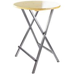 DEMA Skladací stôl vysoký Visby