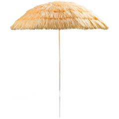 DEMA Plážový slnečník 160 cm UV30 Hawaii, béžový
