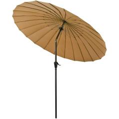 DEMA Slnečník 250 cm Tokio, khaki