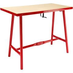 DEMA Skladací pracovný stôl XL 120x70 cm