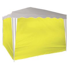 Bočné steny na párty stan žlté