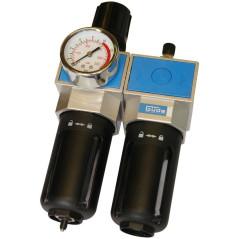 Odlučovač olejový s redukčným ventilom