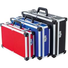 Sada hliníkových kufrov