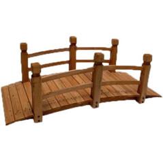 DEMA Záhradný mostík z dreva Nature