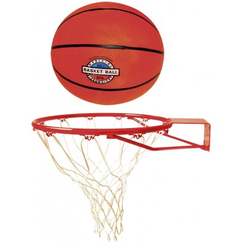 Set basketbalový (kôš + lopta)