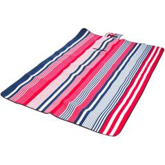 Pikniková deka prúžkovaná 190 x 130 cm