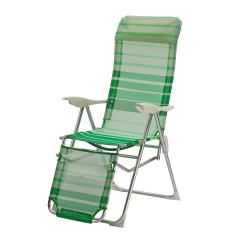 DEMA Relaxačné lehátko Sunnyvale, zelené
