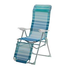 Relaxačné lehátko modré