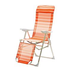 Relaxačné lehátko oranžové