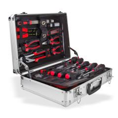 Kufrík na náradie - 127-dielna